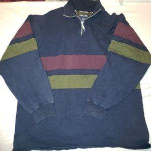 Vintage Cherokee pull over sweater lrg.